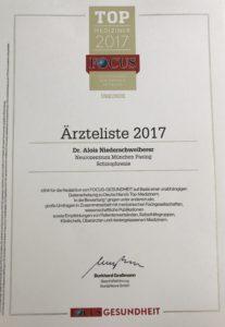 Dr. Niederschweiberer